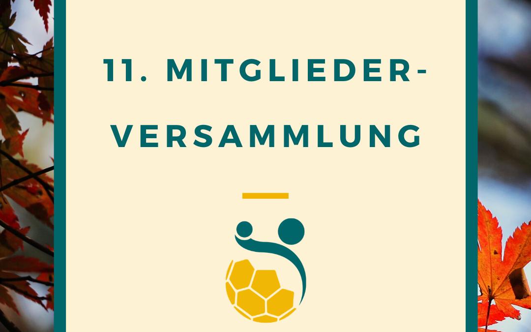 11. Mitgliederversammlung